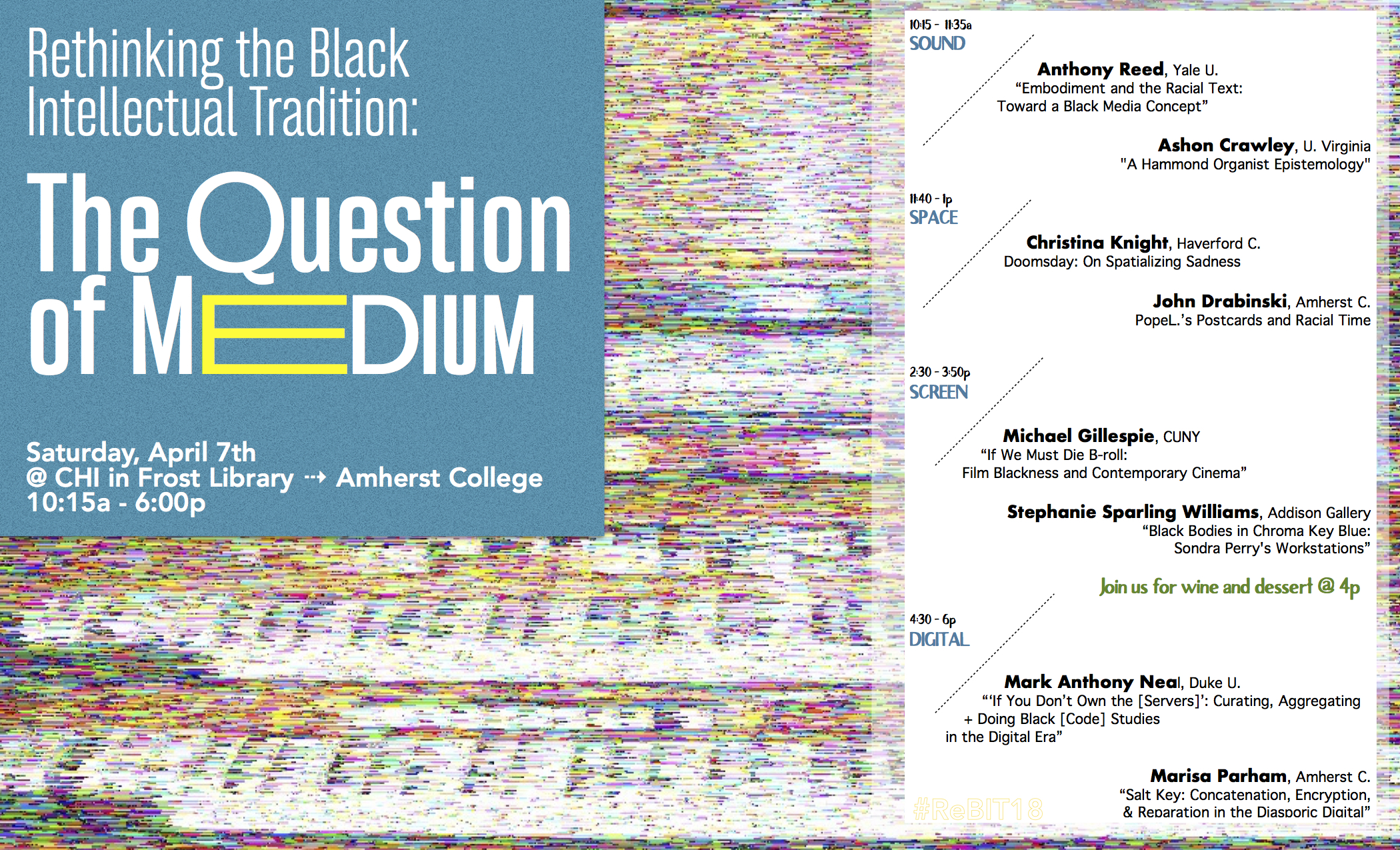 #ReBIT18 – The Question of Medium